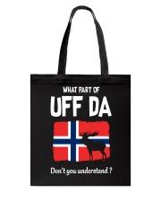 UFF DA Tote Bag thumbnail