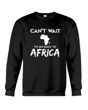 Africa-can't-wait Crewneck Sweatshirt thumbnail