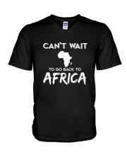 Africa-can't-wait V-Neck T-Shirt thumbnail