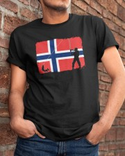 Norway Fishing  Classic T-Shirt apparel-classic-tshirt-lifestyle-26