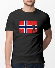 Norway Fishing  Classic T-Shirt lifestyle-mens-crewneck-front-13