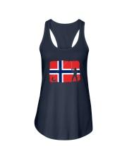 Norway Fishing  Ladies Flowy Tank thumbnail