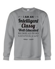 I am a intelligent classy redhead Crewneck Sweatshirt thumbnail