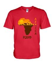 Africa-2019 V-Neck T-Shirt thumbnail