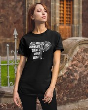 Only elephants should wear ivory Classic T-Shirt apparel-classic-tshirt-lifestyle-06