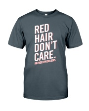 Red hair don't care Classic T-Shirt thumbnail