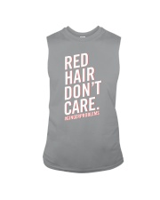 Red hair don't care Sleeveless Tee thumbnail