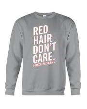 Red hair don't care Crewneck Sweatshirt thumbnail