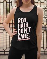 Red hair don't care Ladies Flowy Tank apparel-ladies-flowy-tank-lifestyle-04