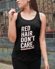 Red hair don't care Ladies Flowy Tank apparel-ladies-flowy-tank-lifestyle-06