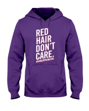 Red hair don't care Hooded Sweatshirt thumbnail