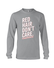 Red hair don't care Long Sleeve Tee thumbnail