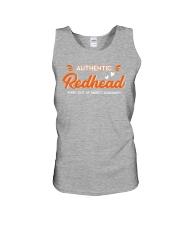 Redhead-authentic Unisex Tank thumbnail