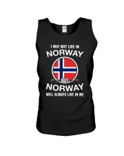 Norway will always live in me  Unisex Tank thumbnail