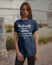 Redheads are like coffee Classic T-Shirt apparel-classic-tshirt-lifestyle-18