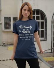Redheads are like coffee Classic T-Shirt apparel-classic-tshirt-lifestyle-19