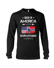 America-Norwegian parts Long Sleeve Tee thumbnail