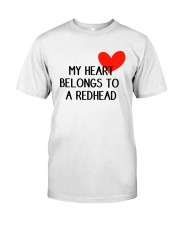 Redhead-heart Classic T-Shirt front