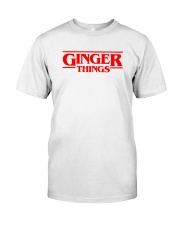 Ginger things Classic T-Shirt front