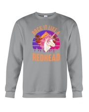 Rock it like a Redhead Crewneck Sweatshirt thumbnail