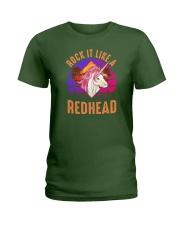 Rock it like a Redhead Ladies T-Shirt thumbnail