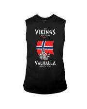 The Vikings Are Coming Sleeveless Tee thumbnail