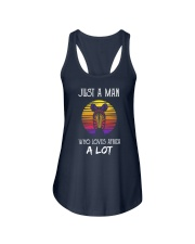 Africa-just-a-man Ladies Flowy Tank thumbnail