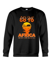 Let's just go to Africa Crewneck Sweatshirt thumbnail