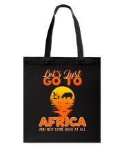 Let's just go to Africa Tote Bag thumbnail