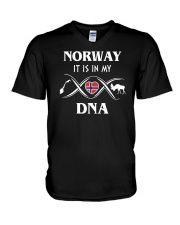 Norway it is in my DNA V-Neck T-Shirt thumbnail