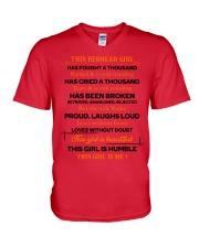 This-redhead-girl V-Neck T-Shirt thumbnail