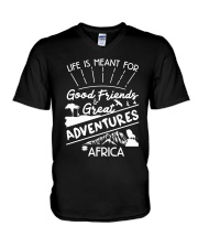 Africa-adventures V-Neck T-Shirt thumbnail