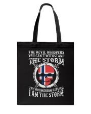 I AM THE STORM NORWEGIAN Tote Bag thumbnail