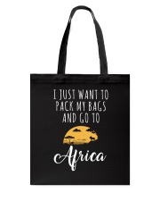 I just want to go to Africa Tote Bag thumbnail