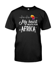 My heart beats for Africa Classic T-Shirt front