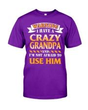 Crazy Grandpa Classic T-Shirt front