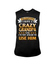 Crazy Grandpa Sleeveless Tee thumbnail