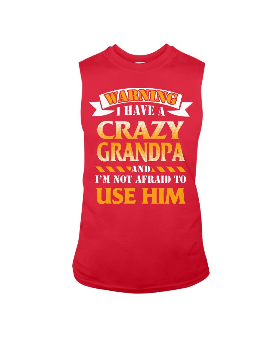 Crazy Grandpa Sleeveless Tee