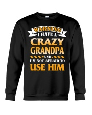 Crazy Grandpa Crewneck Sweatshirt tile
