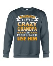 Crazy Grandpa Crewneck Sweatshirt front