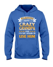 Crazy Grandpa Hooded Sweatshirt front