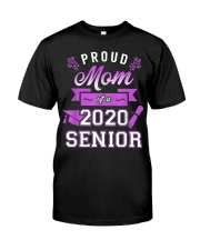 Proud Mom of a 2020 Senior Graduation T-Shirt Classic T-Shirt thumbnail