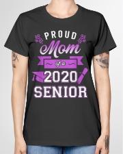 Proud Mom of a 2020 Senior Graduation T-Shirt Ladies T-Shirt garment-tshirt-ladies-front-01
