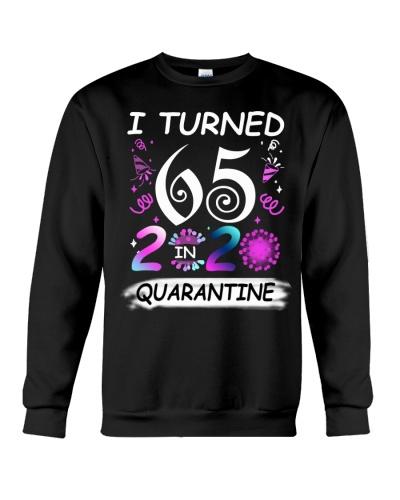 I Turned 65 in Quarantine 2020 Birthday Vintage