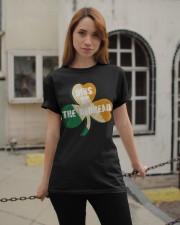 Vintage Drinking St Patricks Day Classic T-Shirt apparel-classic-tshirt-lifestyle-19