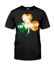 Vintage Drinking St Patricks Day Classic T-Shirt front