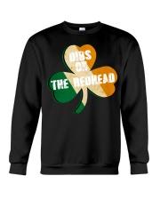 Vintage Drinking St Patricks Day Crewneck Sweatshirt thumbnail