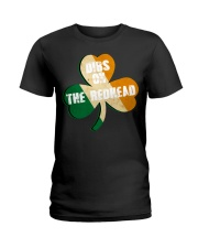 Vintage Drinking St Patricks Day Ladies T-Shirt thumbnail