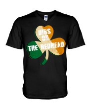 Vintage Drinking St Patricks Day V-Neck T-Shirt thumbnail
