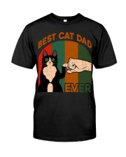 Best Cat Dad Ever T-Shirt Classic T-Shirt front